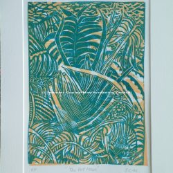 The Palm House Original Woodcut Print, 32 x 42 cms