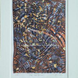 The Palm House Original Woodcut Print, 32 x 42 cms